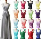 New Chiffon Formal Evening Ball Gown Party Prom Bridesmaid Dress Stock Size 6-22