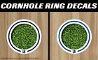 Dallas Mavericks White Cornhole Ring Bag Toss Cast Vinyl Full Color HD Decals! on eBay