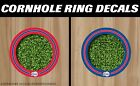 Los Angeles Clippers Cornhole Ring Bag Toss Cast Vinyl Full Color HD Hole Decals on eBay