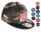 New Era 59FIFTY Fitted - State Reflective RDX Woodland Camo Hat / Cap