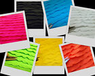 Bright Baby Ruffle Quality Stretch Spandex Fabric BTY, 5 Colors
