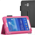 "Folio PU Leather Case Cover Stand For Samsung Galaxy Tab 3 Lite 7.0"" 7"" Tablet"