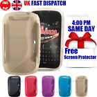 GRIP S-LINE SILICONE GEL CASE & FREE SCREEN PROTECTOR FITS BLACKBERRY CURVE 9320