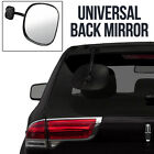 Black Convex Car Door Mirror Wing Side Left Right Passenger Drivers O/S N/S Wide