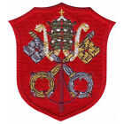 VATICAN SHIELD EMBROIDERED PATCH