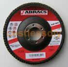 Abracs ABFZ115B060 115mm Zirconium Flap Discs 60g For Metal Stainless Steel