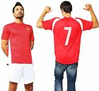Arsenal Official Football Club T Shirt with Number Training 2015 2016 Gunners