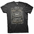 Vintage Aged To Perfection 1965 - Distressed Print - 50th Birthday Gift T-shirt