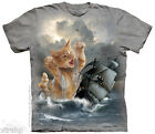 The Mountain KRAKITTEN Kitty Kitten Adult Men T-Shirt S-2XL Short Sleeve