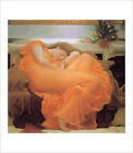 Leighton - Flaming June - fine art giclee print poster - various sizes