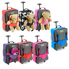 Cabin Max Bear Childrens Luggage Carry On Trolley Suitcase Wheeled Cabin Bag
