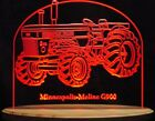 """Tractor G900 Farm Equip Edge Lit 11-13"""" Lighted Sign LED Plaque VVD24 USA Made"""