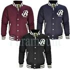 Raiken Lewis Quilted Padded Baseball Jacket Mens  Mens Size