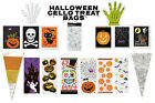 Halloween Trick or Treat Party Gift Favour Cello Bags