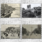 Vintage Postcard Art Canvas Prints - Hull Beverley Bridlington Filey Hornsea
