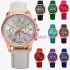 A+ Classic Womens Mens Boys Watch Fashion Leather Sport Quartz Lover Wrist Watch