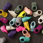 Baby Tassel Soft Sole Leather Shoes Newborn Boy Girl Infant Toddler Moccasin