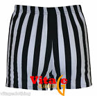 SALE- Womens Black & White Thin Striped Soft Viscose Shorts Size UK 10-12