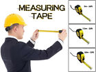 16Ft 25Ft 33Ft DIY Builders Pocket Tape Measure Professional Tools Auto Lock NEW