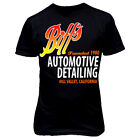 9151 Biff's Auto Detailing T-Shirt Back To The Future Hoverboard Hill Valley