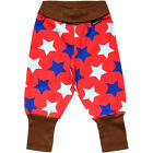 BNWT Boys Girls Maxomorra Red Stars Baby Trousers NEW Organic Cotton Leggings