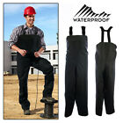 Mens Overalls Waterproof Bib Brace Painters Coverall Trouser Dungarees Work Wear