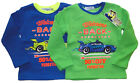 Sweatshirt Jungen Kinder Auto Car langarm Shirt warmes Langarmshirt Welcome Back
