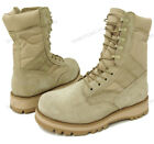 "Men's Desert Boots GI Type Tan 10"" Tactical Combat Military Work Shoes, Sizes"