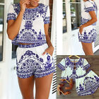Hot Sale Women Ladies Clubwear Flora Playsuit Bodycon Party Jumpsuit&Romper