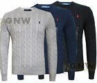 RALPH LAUREN POLO MEN ROVING CABLE KNIT JUMPER/SWEATER S/M/L/XL/XXL NEW Was £110