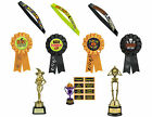HALLOWEEN PARTY AWARDS RIBBONS SASHES TROPHIES