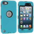 For iPod Touch 5th 6th Generation 5G 6G Case Hybrid Rugged Deluxe 3-Piece Cover