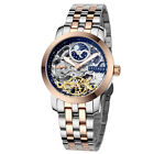 Mens Zeitner Iconic Automatic Skeleton Watch with Sun~Moon Face Design