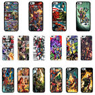 DC Marvel superhero comic book cover case for Apple iPhone - G12