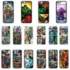 DC Marvel superhero comic book cover case for Apple iPhone - G21