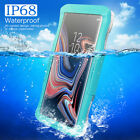 Waterproof Lifetime Shockproof Cover Case For Samsung Galaxy S7 S6 edge+/ Note 8