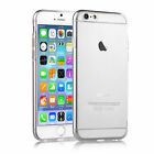 Clear Anti-Scratch TPU Gel Case Cover for various iPhone models + Screen Guard