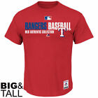 Majestic Texas Rangers Team Favorite Big & Tall T-Shirt - Red