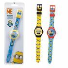 Children's Digital Sports watch, MINIONS - 3 Designs - Christmas Stocking Filler