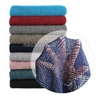 Neotrims Loose Knit Throw Blanket Dress Fabric Faux Mohiar Baby Wrap Soft Handle