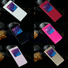 Front Window View Flip PU Leather Case Cover for Samsung Galaxy Alpha G850F EW