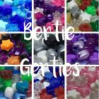 10, 50 or 250 Star or heart Pony Beads - Various Colour Mixes