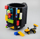 Build-on Brick Mug Coffee Mug Tea Cup Compatible Lego Mega Kre-o Children's Gift