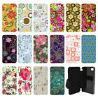 Vintage Retro Prints Patterns Flip Wallet cover case for Apple iPhone No.16