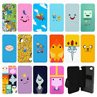 Adventure Time Flip Wallet cover case for Apple iPhone No. 28