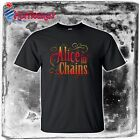 new ALICE IN CHAINS AIC rock band tribal logo Mens T-shirt size S to 4XLT rare
