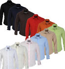Mens GUIDE LONDON Shirt Dress Casual Formal Slim Fit L/S Classic Double Cuff Top
