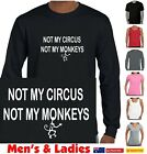 Funny T-Shirts Singlets Not My Circus Not My Monkeys size charts styles Aussie