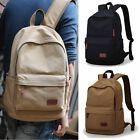 NWT Retro Men's Canvas Backpack Rucksack Bookbag School bag Travel bag