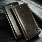 Leather Flip Case Cover Wallet Card Holder Stand For Samsung Galaxy S5 i9600